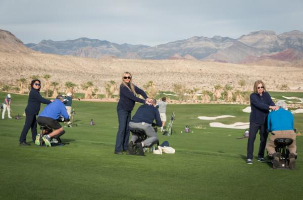 Golf tournament Chair Massage