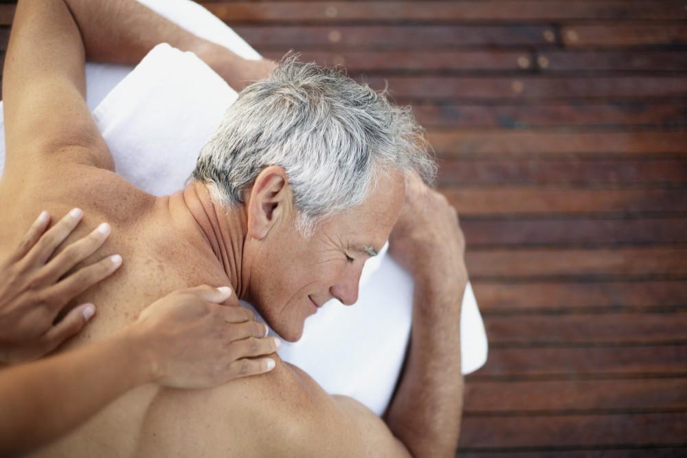 Senior Man Massage Las Vegas Hired Hands